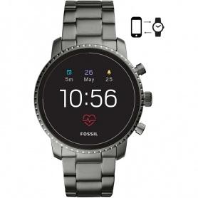 Smartwatch Fossil Gen 4Q explorist HR acciaio anorizzato