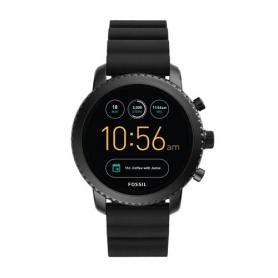 Smartwatch Fossil Gen 4Q explorist HR silicone nero - FTW4018