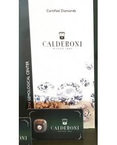 Zertifizierte versiegelte Diamanten Calderoni 0.10F