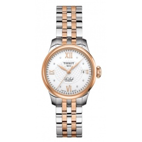 Tissot Le Locle Lady Zwei-Ton-Diamant-Uhr T41218316