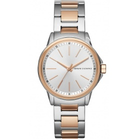 Armani Exchange bicolor women's watch - AX4363