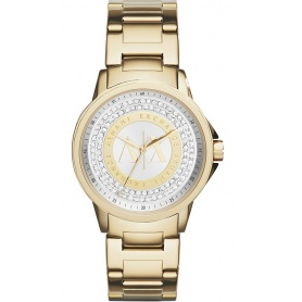 Orologio donna Armani Exchange Lady Banks oro - AX4321