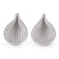 Earrings Annamaria Cammilli Gold drop and diamonds GAN2005W