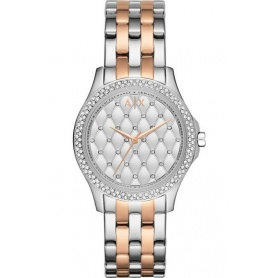 Women's Armani Exchange Lady Hampton bicolor watch