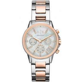 Orologio donna Armani Exchange Lady Banks rosè AX4331