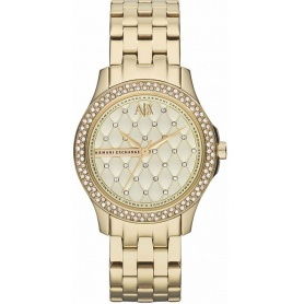 Orologio donna Armani Exchange Lady Hampton gold