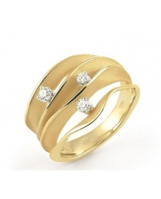 Annamaria Cammilli Dune ring in yellow gold GAN1942U