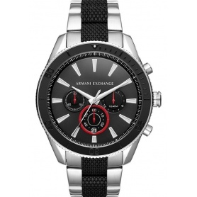 Armani Exchange men's watch with two-color strap AX1813