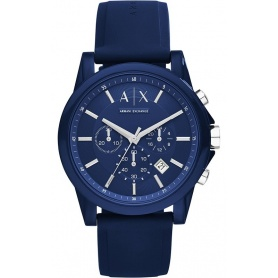 Orologio uomo Armani Exchange Outerbanks blu - AX1327