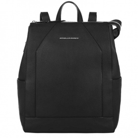 Women's Backpack Piquadro Muse black - CA4629MU / N