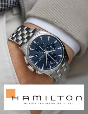 Hamilton Jazzmaster auto chrono