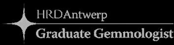 HRD Antwerp graduate gemmologist